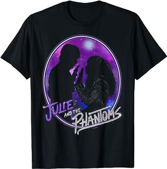 Julie And The Phantoms Circle Silhouette Logo T-Shirt