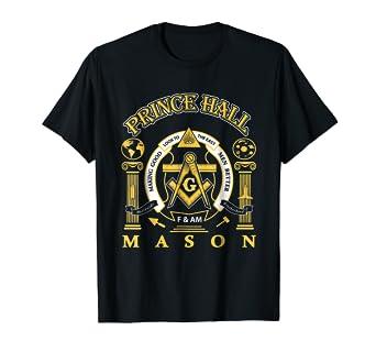 The Masonic Store: PRINCE HALL MASON - F&AM T-Shirt Gift
