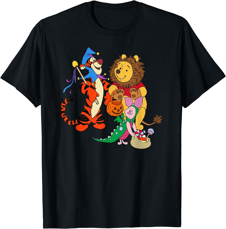 Disney Halloween Winnie the Pooh Costumed Trio T-Shirt