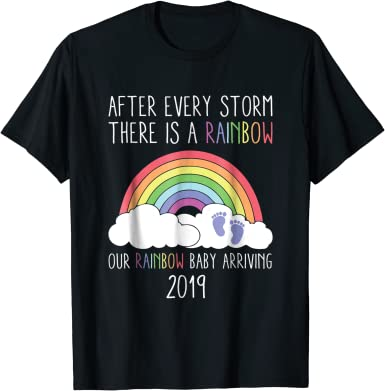 The rainbow after the storm tee  toddler shirt