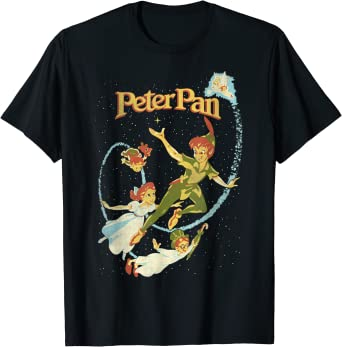 Disney Peter Pan Darling Flight Vintage T-Shirt