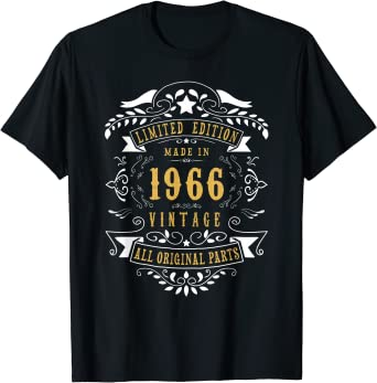 54th Birthday Gifts Presents Year 1965 Mens Ringer Vintage T-Shirt Matured To