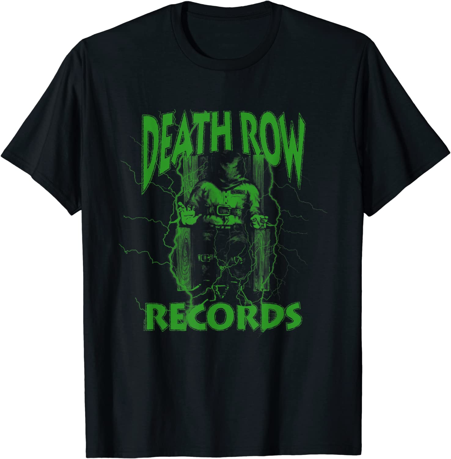 Death Row Records Electric Neon Green T-Shirt