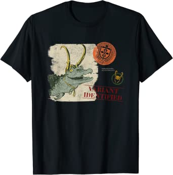 Marvel Loki Alligator Loki Variant Identified T-Shirt