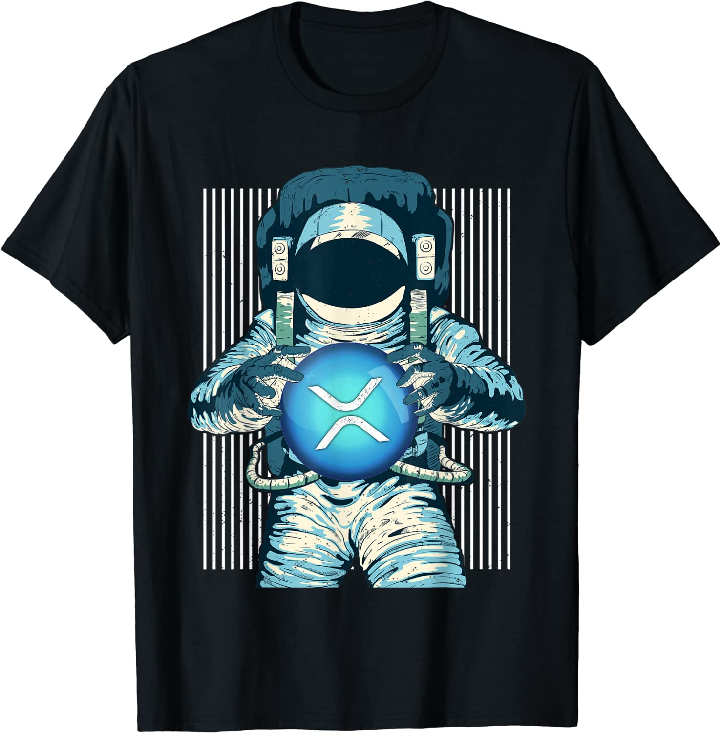 XRP Crypto Gift Cryptocurrency Blockchain Community T-Shirt
