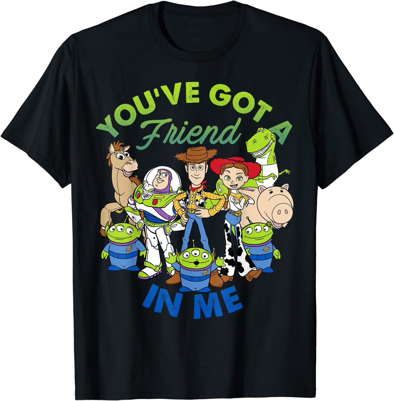 Disney Pixar Toy Story Cartoon Group Shot Graphic T-Shirt T-Shirt