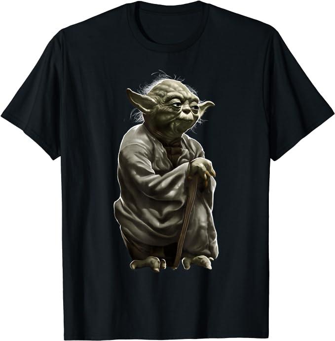 Star Wars Yoda Detailed Full Body Portrait T-Shirt