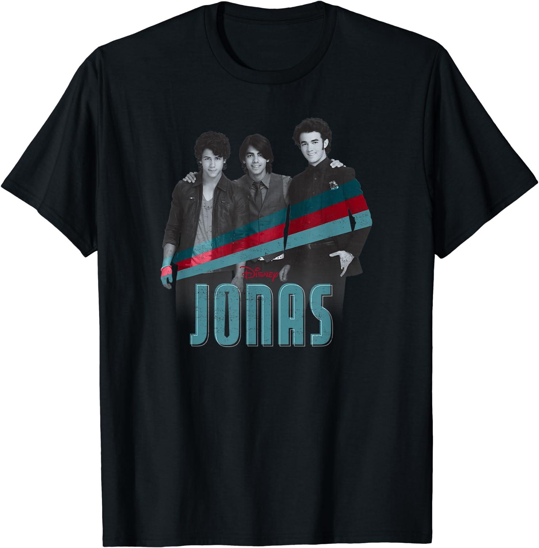 Disney Channel JONAS Nick Joe and Kevin T-Shirt