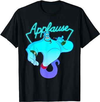 Disney Aladdin Genie Applause Neon Light T-Shirt