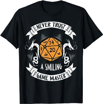 RPG Dice Mens T Shirt XP Design Geek Retro Cotton Regular Fit Tee