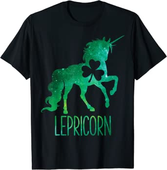 Toddler Unicorn St Patrick/'s Day T-Shirt