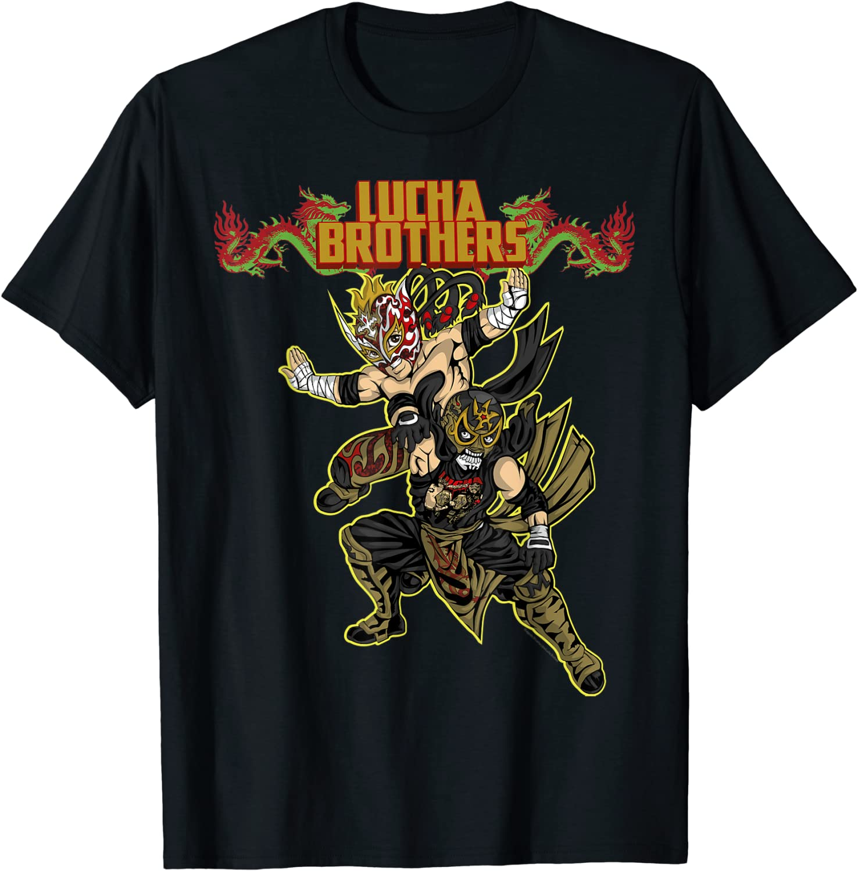 Lucha Brothers Penta Zero M & Rey Fenix -Lucha Libre T-shirt