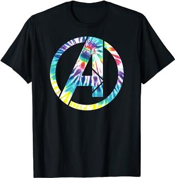 Marvel Avengers Tie Dye A Symbol T-Shirt
