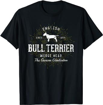 Rétro vintage Bull terrier T-Shirt