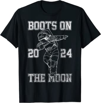 Netflix Space Force Boots On The Moon 2024 T-Shirt