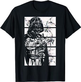 Star Wars Darth Vader Split Screen Graphic T-Shirt