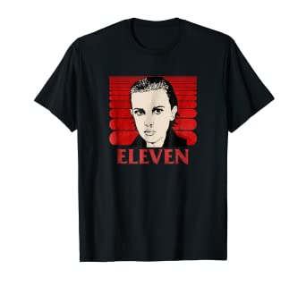 Amazon.com: Netflix Stranger Things Eleven - Camiseta retro ...