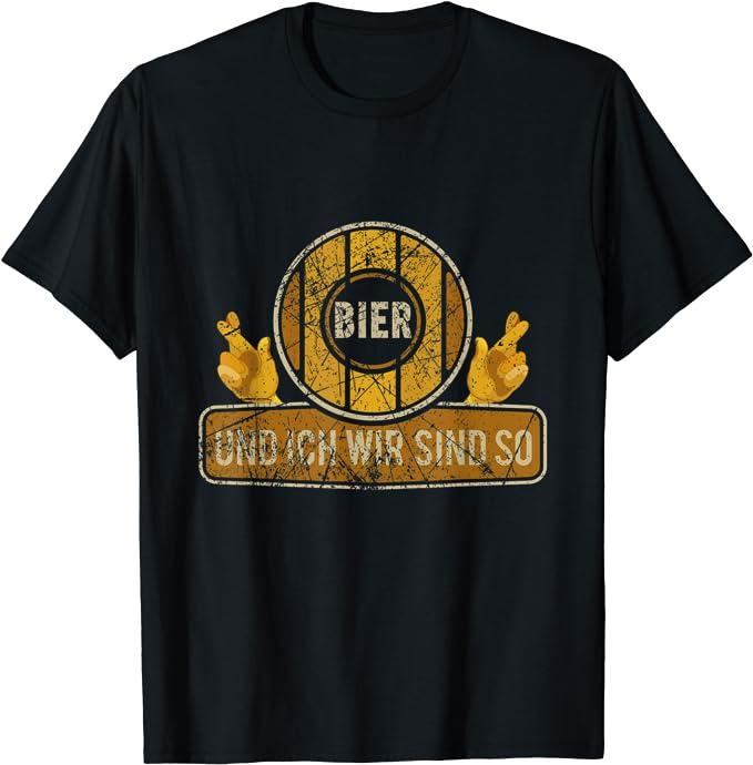 Lustige Bier Zitate Sprüche Kleidung & Geschenke T-Shirt