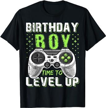 Birthday Boy Controller Shirt Birthday Boy Shirt Kids Birthday Shirt Birthday Boy Gamer Shirt Game Controller Shirt Birthday Boy Tee Shirt
