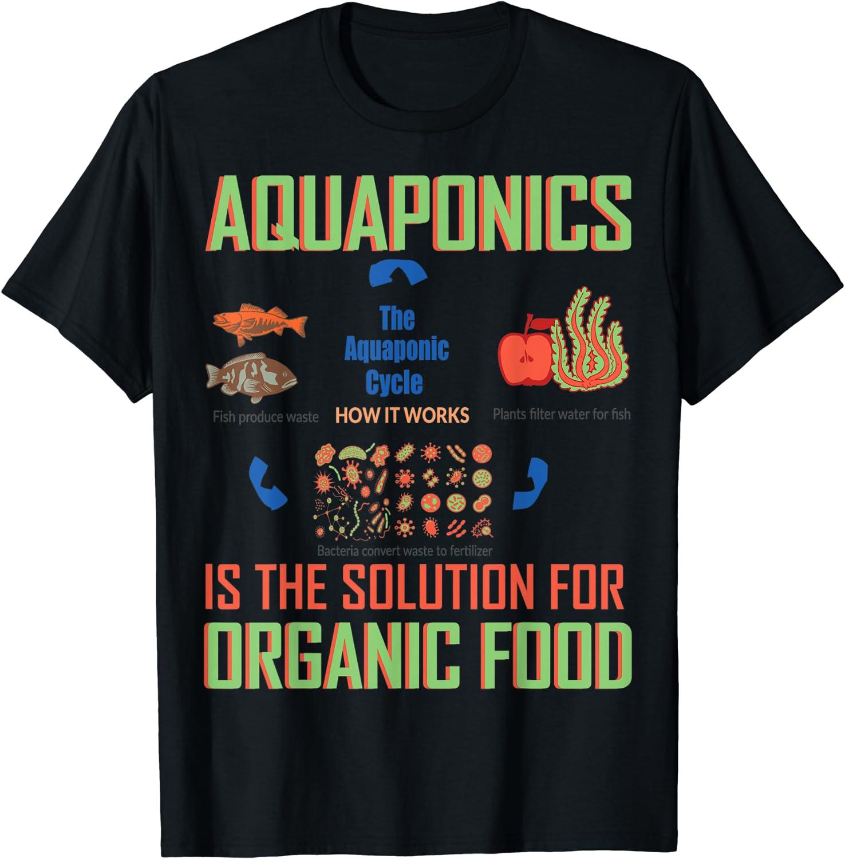 Aquaponics Is The Solution For Organic Food - T Shirt