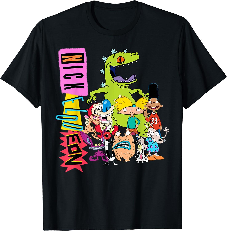Nickelodeon Throwback Retro Character T-Shirt