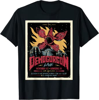 Stranger Things Day Demogoron Live November 6th Poster T-Shirt
