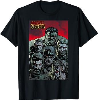 Marvel Zombies Avengers Zombie Group Shot T-Shirt