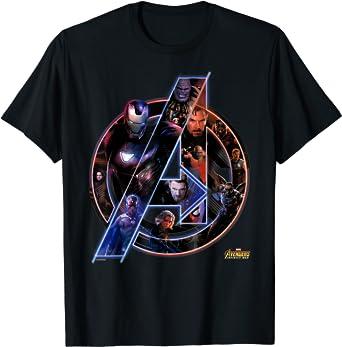 Marvel Avengers Infinity War Neon Team T-Shirt