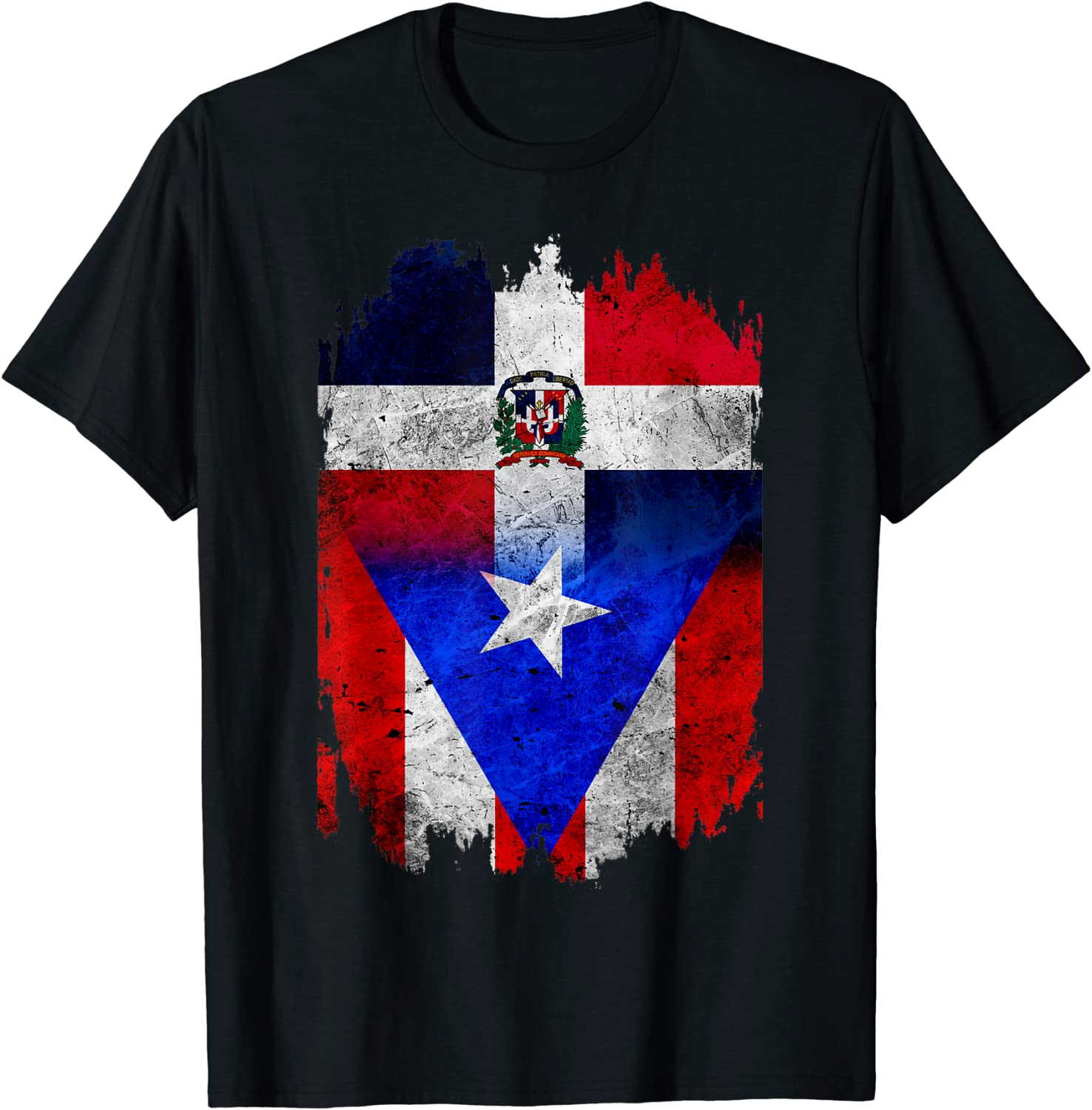 DominiRican Dominican and Max 50% OFF Puerto Rican T-Shi Max 78% OFF Flag