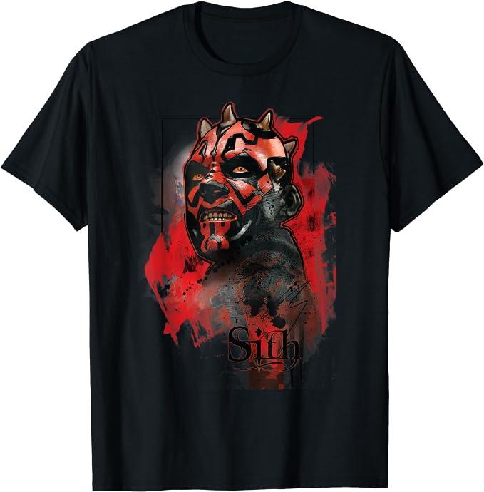 Star Wars Darth Maul Sith T-Shirt