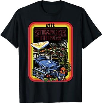 Stranger Things Day Retro Poster T-Shirt