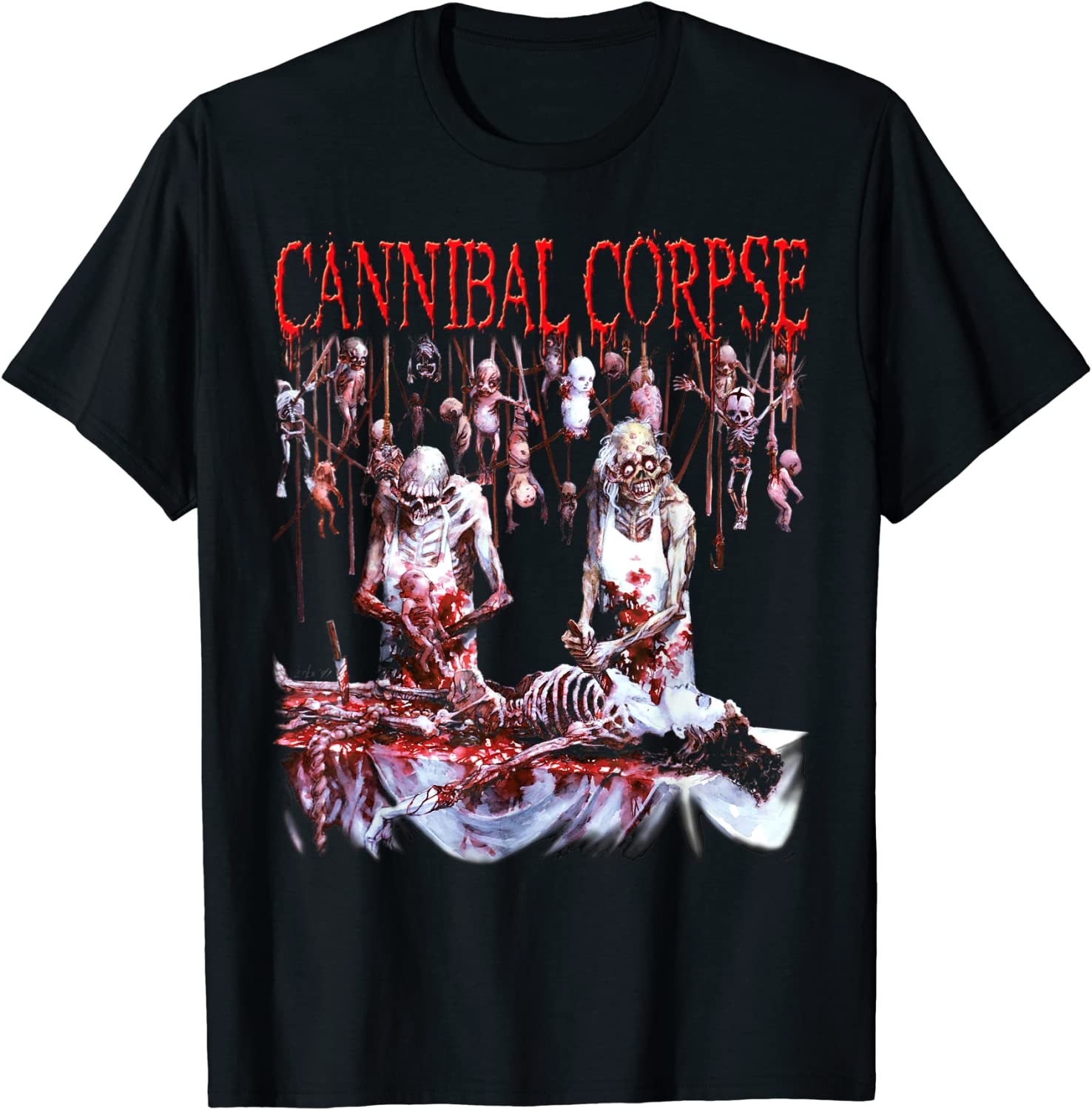 Cannibal Corpse - Official Merchandise - Butchered at Birth T-Shirt