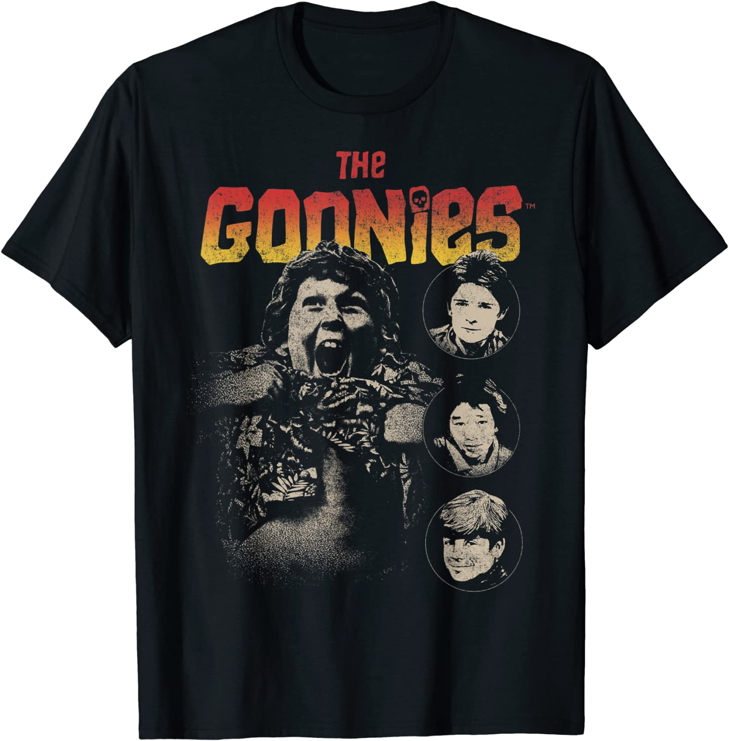 The Goonies Cast Poster T-Shirt