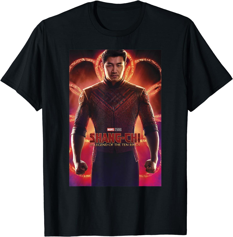 Marvel Shang-Chi Legend Poster T-Shirt