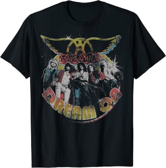 Aerosmith - Dream On Portrait Camiseta