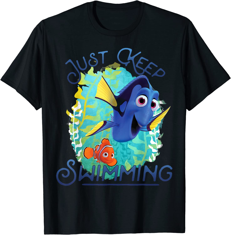 Disney Pixar Finding Dory Just Keep Swimming T-Shirt T-Shirt