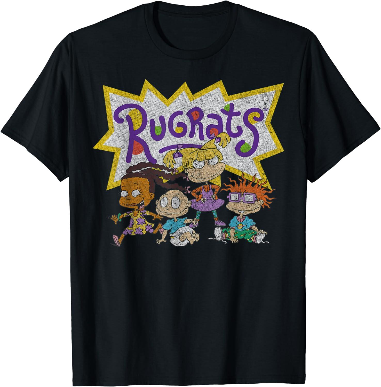 Nickelodeon Rugrats Vintage Group Shot Logo T-Shirt