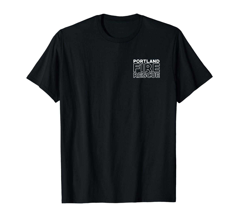 City Of Portland Fire Rescue Oregon Firefighter T Shirt