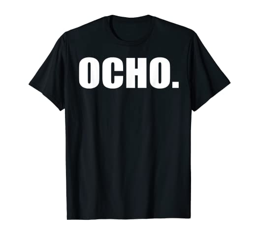 8th Birthday Shirt - Ocho Anos - Camisa de 8 Cumpleanos