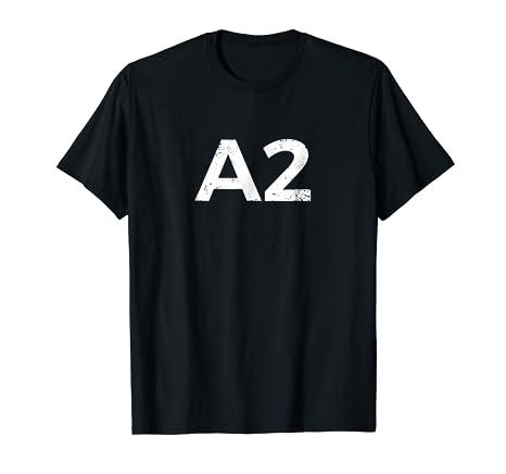 Amazon Asquared A2 A Squared Ann Arbor Tee Shirt Clothing
