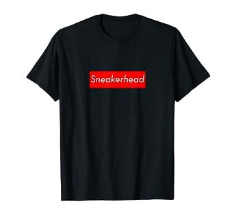 139216a71c0 Amazon.com: Sneakerhead T-Shirt   Classic Box Logo Sneakerhead Tee ...
