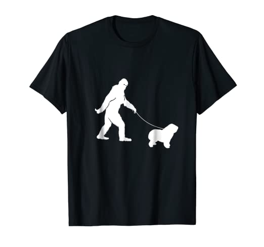 c9d189e6 Image Unavailable. Image not available for. Color: Bigfoot Fun Polish  Lowland Sheepdog- Shirt ...