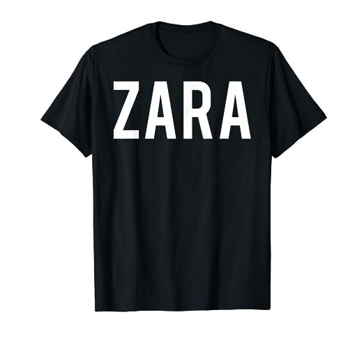 eb218785 Amazon.com: Zara T Shirt - Cool new funny name fan cheap gift tee ...