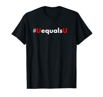 e412e6d28 Amazon.com: #UEqualsU HIV Undetectable Untransmittable T Shirt ...