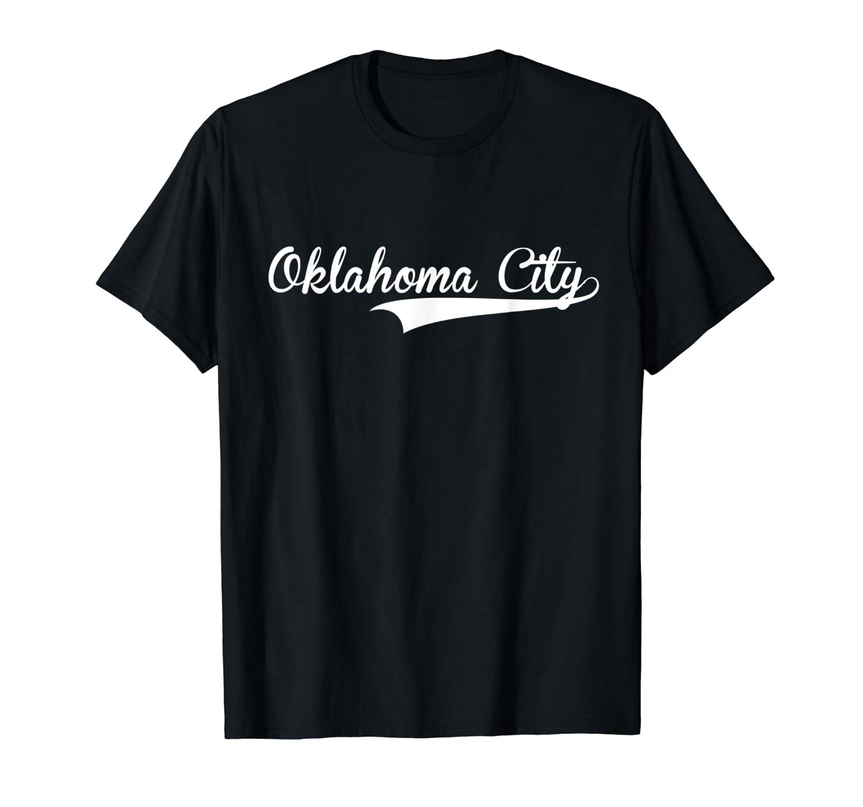Oklahoma City Baseball Styled T Softball Shirts