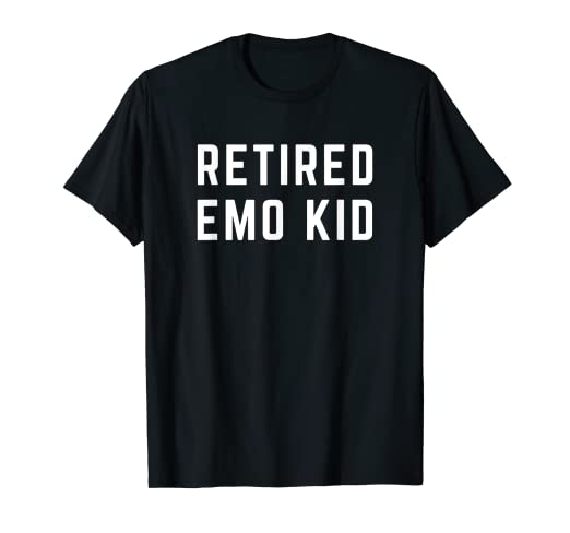 b0b6a14c7 Amazon.com: Retired Emo Kid Shirt: Clothing