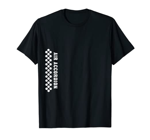 4461b565 Image Unavailable. Image not available for. Color: Air Accordion T Shirt |  Original Hero | Music Funny Sayings