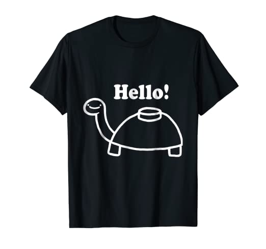 Amazoncom Mine Turtle Stops By To Say Hello T Shirt Clothing