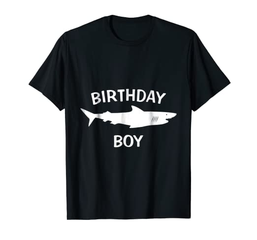 Image Unavailable Not Available For Color Birthday Boy Shark Shirt