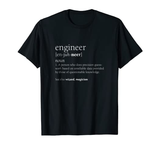b7ed70c6219 Image Unavailable. Image not available for. Color  Engineer Definition T  Shirt